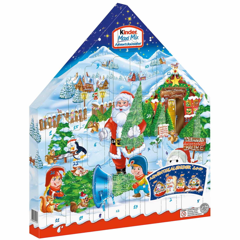 Kinder Weihnachtskalender.Kinder Maxi Mix 2018 De Navidad Adviento Calendario Aleman