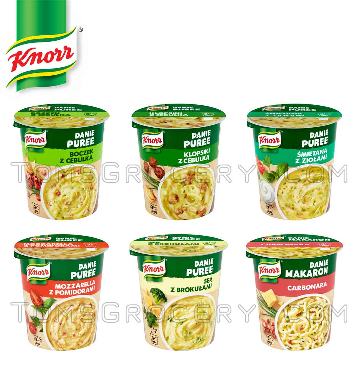 knorr instant mashed potatoes ready in 3 minutes bacon. Black Bedroom Furniture Sets. Home Design Ideas