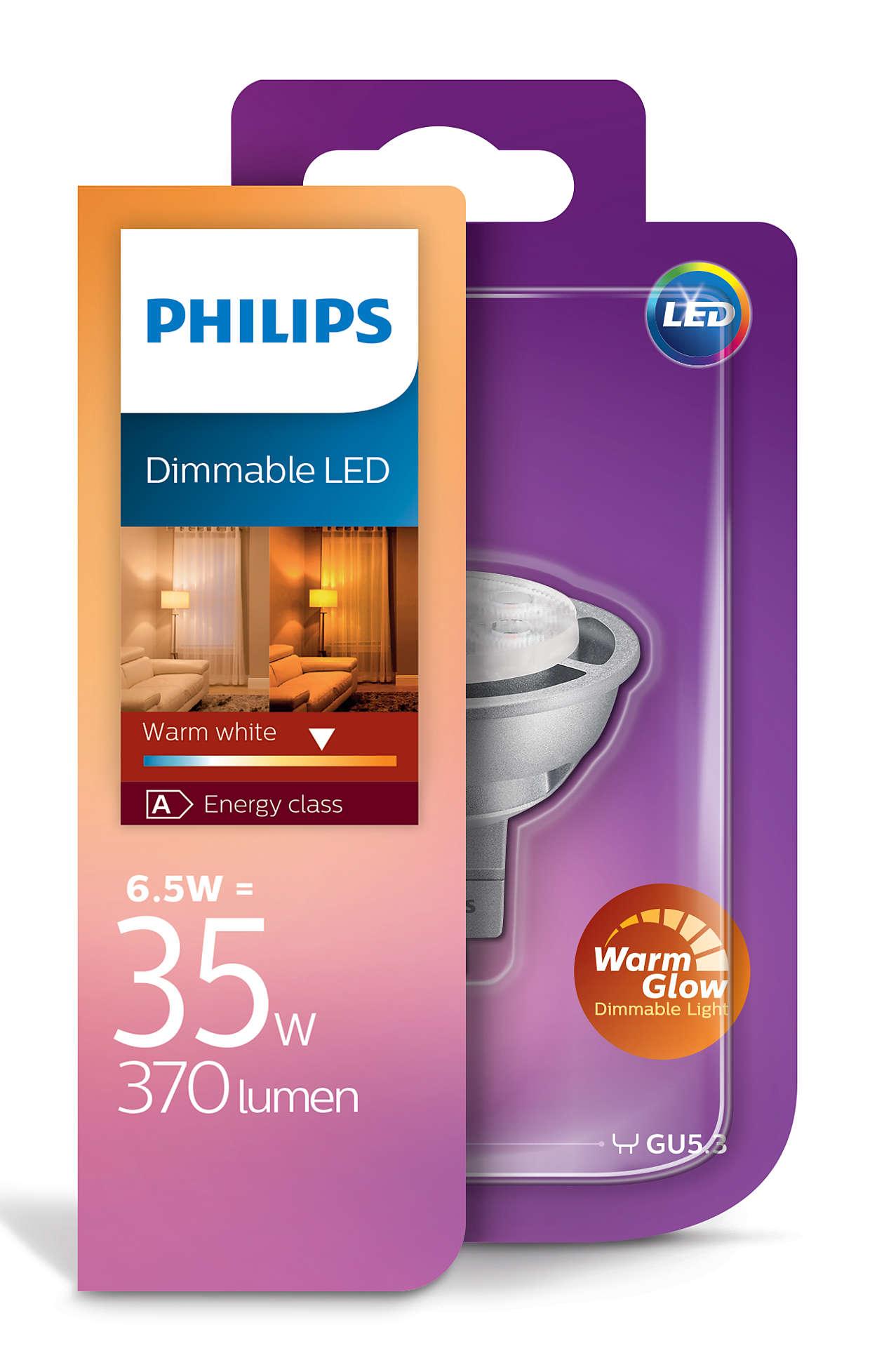philips-led-gu5.3-6.5W Verwunderlich Led Birnen Gu5 3 Dekorationen